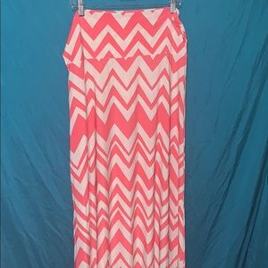 👠Chevron maxi skirt👠